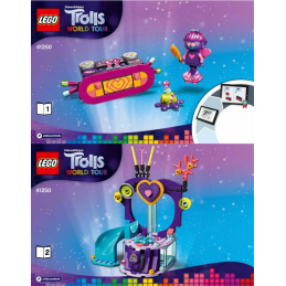 Notice / Instruction Lego Trolls  41250
