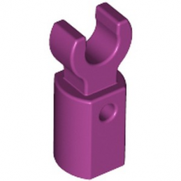LEGO 6291413 HOLDER Ø3.2 W/TUBE Ø3.2 HOLE - MAGENTA