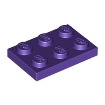 LEGO 4225142 PLATE 2X3 - MEDIUM LILAC