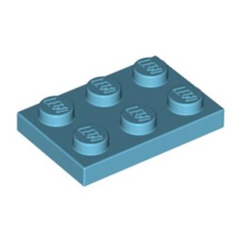 LEGO 4619513 PLATE 2X3 - MEDIUM AZUR
