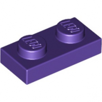 LEGO 4655695 PLATE 1X2 - MEDIUM LILAC