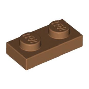 LEGO 6218360 PLATE 1X2 - MEDIUM NOUGAT