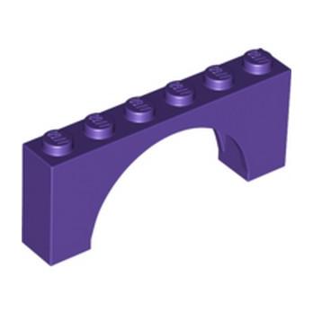 LEGO 6290494 BRIQUE W. BOW 1X6X2 - MEDIUM LILAC