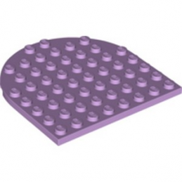 LEGO 6273856 1/2 ROND 8X8 - LAVENDER