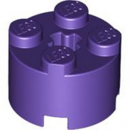 LEGO 4622176 BRIQUE RONDE Ø16 W. CROSS - MEDIUM LILAC