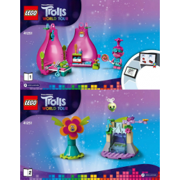 Notice / Instruction Lego Trolls  41251