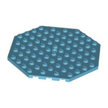 LEGO 6189082 PLATE OCTAGONAL 10X10 - MEDIUM AZUR