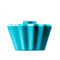 LEGO 6287932  MOULE A CUPCAKE - MEDIUM AZUR