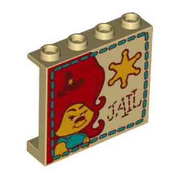 LEGO 6294457 IMPRIME TROLLS 1X4X3