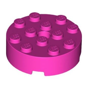 LEGO 6263792 BRIQUE RONDE 4X4 ROUND - ROSE lego-6263792-brique-ronde-4x4-rose ici :
