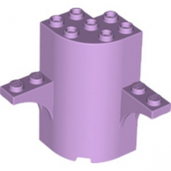LEGO 6290504 WALL 3X3X5, W/ ARCH, 1X4 CIRCLE - LAVENDER