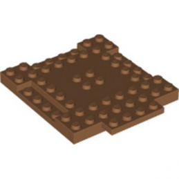LEGO 6174193 PLAQUE 8X8X6 - MEDIUM NOUGAT lego-6174193-plaque-8x8x6-medium-nougat ici :