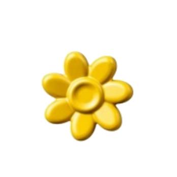 LEGO 6292969 ACCESSOIRE DE COIFFURE / FLEUR - JAUNE