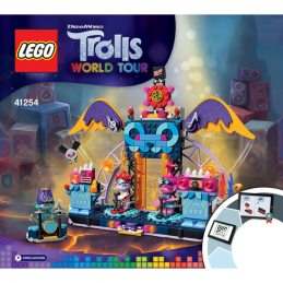 Notice / Instruction Lego Trolls  41254