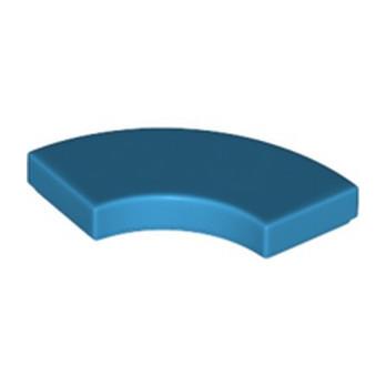 LEGO 6199897 PLATE LISSE 2X2 1/4 ROND - DARK AZUR lego-6199897-plate-lisse-2x2-14-rond-dark-azur ici :
