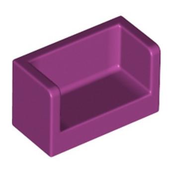 LEGO  6248482 CLOISON 1X2X1-  MAGENTA