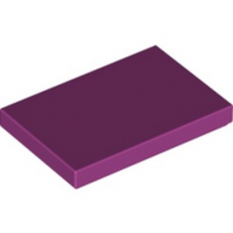 LEGO 6292373 PLATE LISSE 2X3 - MAGENTA
