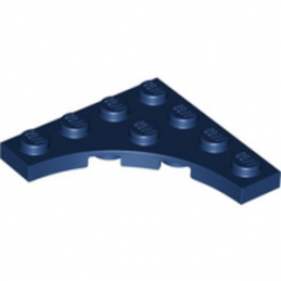 LEGO 6267169 PLATE 4X4 ROND INV - EARHT BLUE