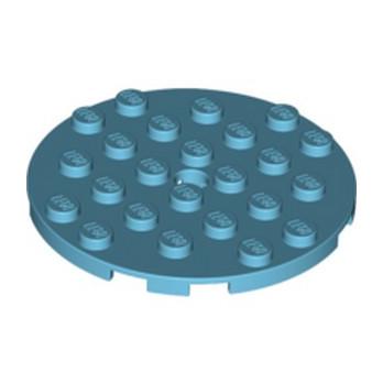 LEGO 6029690 PLATERONDE 6X6 - MEDIUM AZUR lego-6029690-plateronde-6x6-medium-azur ici :