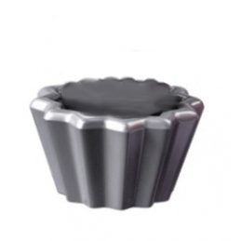 LEGO 6292984 MOULE A CUPCAKE - METAL SILVER