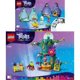 Notice / Instruction Lego Trolls  41255