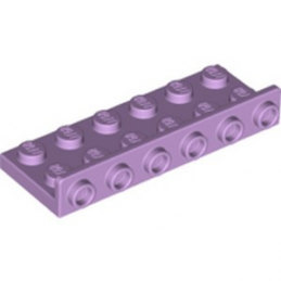 LEGO 6288329 BRIQUE PLATE 2X6, W/1.5 PLATE 1X6, UPWARDS - LAVENDER