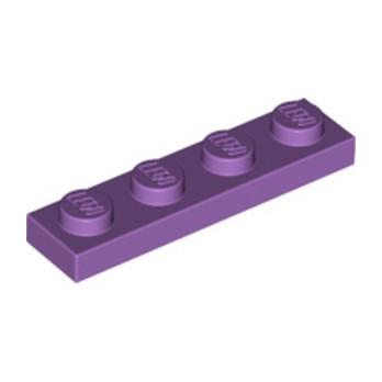 LEGO 4619524 PLATE 1X4 - MEDIUM LAVENDER