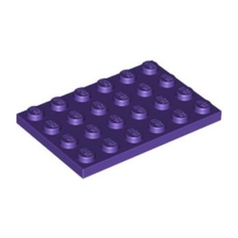LEGO 6147032 PLATE 4X6 - MEDIUM LILAC