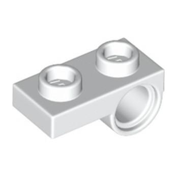 LEGO 6168633 PLATE 1X2 W. HORIZONTAL HOLE Ø4,85 REV. - BLANC lego-6232029-plate-1x2-w-horizontal-hole-o485-rev-blanc ici :