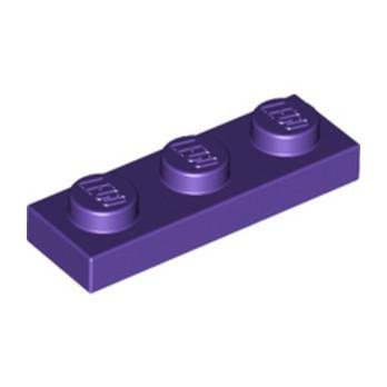 LEGO 6035470 PLATE 1X3 - MEDIUM LILAC lego-6035470-plate-1x3-medium-lilac ici :
