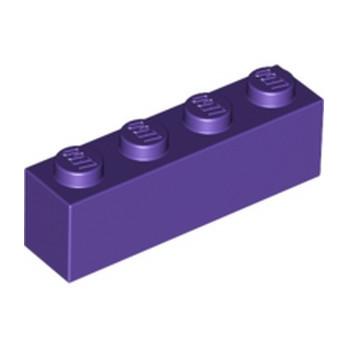LEGO 6185995 BRIQUE 1X4 - MEDIUM LILAC