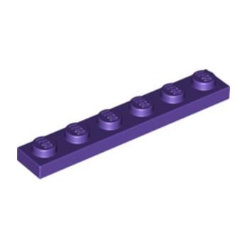 LEGO 4225141 PLATE 1X6 - MEDIUM LILAC