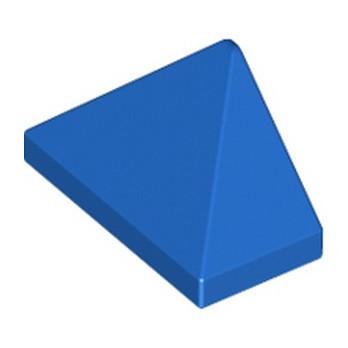 LEGO 6249783 TUILE 1X2/45° - BLEU