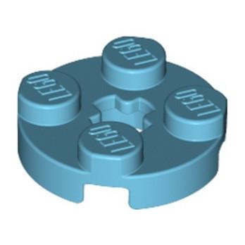 LEGO 6109752 PLATE 2X2 ROND - MEDIUM AZUR lego-6109752-plate-2x2-rond-medium-azur ici :