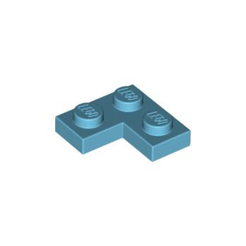 LEGO 6293739 PLATE ANGLE 1X2X2 - MEDIUM AZUR