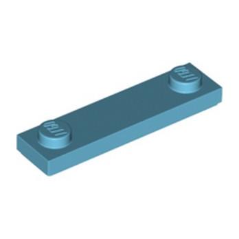 LEGO 6252704 PLATE 1X4 W. 2 KNOBS - MEDIUM AZUR
