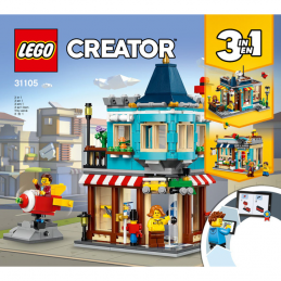 Notice / Instruction Lego Creator 3 en 1 - 31105