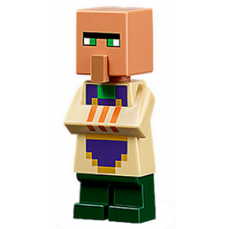 Mini Figurine LEGO® Minecraft - Villageois