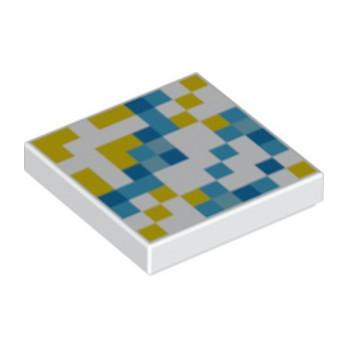 LEGO 6290444 PLAQUE  2X2 IMPRIME MINECRAFT  lego-6290444-plaque-2x2-imprime-minecraft- ici :