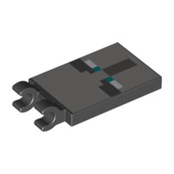 LEGO  6290248 PLAQUE  2X4 -  IMPRIME MINECRAFT