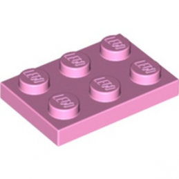 LEGO 6102999  PLATE 2X3 - ROSE CLAIR