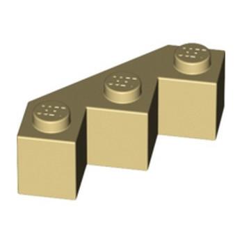 LEGO 246205 FACET BRIQUE 3X3X1 - BEIGE