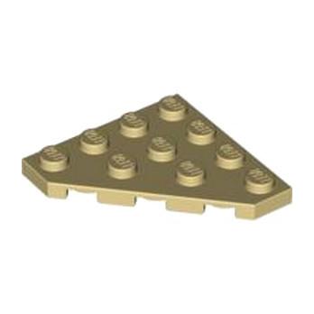 LEGO 4569474 PLATE D'ANGLE 45 DEG. 4X4  - BEIGE lego-6034852-plate-d-angle-45-deg-4x4-beige ici :