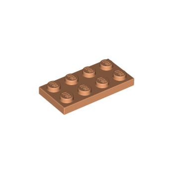 LEGO 6286500 PLATE 2X4 - NOUGAT lego-6286500-plate-2x4-nougat ici :