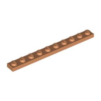 LEGO 6286497 PLATE 1X10 - NOUGAT