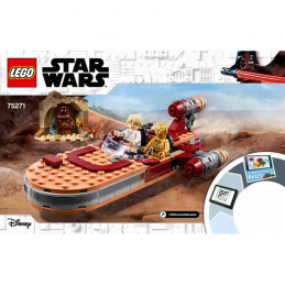 Notice / Instruction Lego Star Wars 75271