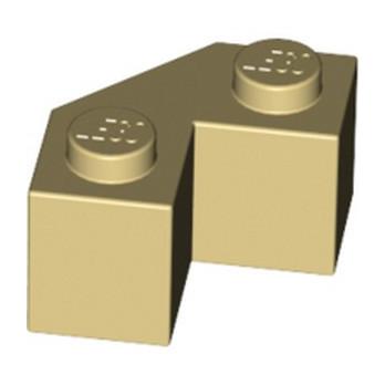 LEGO 6148265 BRIQUE 2x2 ANGLE 45° - BEIGE lego-6148265-brique-2x2-angle-45-beige ici :