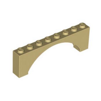 LEGO  6079724 ARCHE 1X8X2 - BEIGE