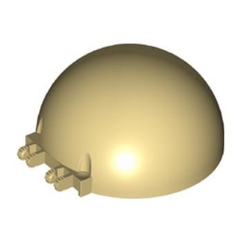 LEGO 6289818 DOME Ø.63.77 8X8X3 - BEIGE lego-6289818-dome-o6377-8x8x3-beige ici :