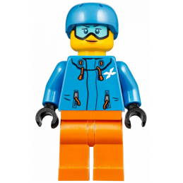 Mini Figurine LEGO® : City - Skieuse